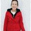 ((ขายแล้วครับ))((คุณปนัดดาจองครับ))ca-2617 เสื้อโค้ทกันหนาวผ้าวูลสีแดง รอบอก33 thumbnail 1
