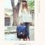 """กระเป๋าเป้สะพาย ยี่ห้อ Superlover สไตส์ญี่ปุ่น มีช่องใส่ Notebook14"""" สีน้ำเงินดอกไม้ (Pre-Order) thumbnail 7"""