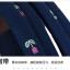 """กระเป๋าเป้สะพาย ยี่ห้อ Superlover สไตส์หญิงเกาหลี มีช่องใส่ Notebook14"""" และกระเป๋าเป้ใบเล็ก สีน้ำเงินดอกไม้ (Pre-Order) thumbnail 12"""