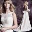 (Pre-Order) ชุดแต่งงาน <แขนกุด> รหัสสินค้า WDL0761 thumbnail 1