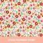 ผ้าคอตต้อนเกาหลี ลาย JUNI FLOWER IVORY ผ้าฝ้าย 100% ตัดขายขนาดผ้าเริ่ม 1/4 (45x56.5 cm) thumbnail 1