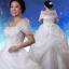 (Pre-Order) ชุดแต่งงานคนอ้วน <ไหล่ปาด> รหัสสินค้า PSWDL0005 thumbnail 1