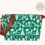 กระเป๋าสะพายยี่ห้อ Super Lover สไตล์ญี่ปุ่นลายสีขาวเขียว (Pre-Order) thumbnail 10