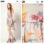 Warehouse Barearic print Dress Size uk8-10 thumbnail 3