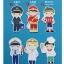 ผ้าสักหลาดเกาหลี jobboy size 1mm มี 7 แบบ ขนาด 45x30 cm/ชิ้น (Pre-order) thumbnail 2