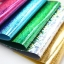 ผ้าสักหลาดเกาหลีสี Hologram felt / Holographic felt size 1.2mm ขนาด 23x29 cm มี 13 สี/ชิ้น (Pre-order) thumbnail 1