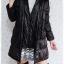 ((ขายแล้วครับ))((คุณMeemeeจองครับ))ca-2608 เสื้อโค้ทกันหนาวผ้าร่มสีดำ รอบอก38 thumbnail 3