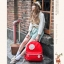 กระเป๋าเป้สะพาย ยี่ห้อ Superlover หญิงญี่ปุ่น มีช่องใส่ note book ได้ค่ะมี 2 สี แดง ครีม (Pre-Order) thumbnail 6