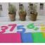 ผ้าสักหลาดเกาหลี Number มี 4 สี เบอร์ 823/830/853/866 size 1mm ขนาด 45x30 cm/ชิ้น (Pre-order) thumbnail 17