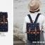 กระเป๋าเป้ยี่ห้อ Super Lover สาวญี่ปุ่นเกาหลีผ้าใบหญิงอังกฤษมินิศิลปะญี่ปุ่น (Preorder) thumbnail 3