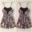 Primark Floral playsuit Size UK8 thumbnail 1