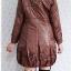 ((ขายแล้วครับ))((จองแล้วครับ))ca-2601 เสื้อโค้ทกันหนาวผ้าร่มสีน้ำตาลกะปิ รอบอก38 thumbnail 2