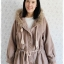 ((ขายแล้วครับ))((คุณChanutchaจองครับ))ca-2663 เสื้อโค้ทกันหนาวผ้าวูลสีเบส รอบอก48 thumbnail 1