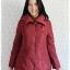 ((ขายแล้วครับ))((คุณณัฐชยาจองครับ))ca-2649 เสื้อโค้ทกันหนาวผ้าร่มขนเป็ดสีไวน์แดง รอบอก38 thumbnail 1