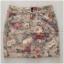 Topshop Floral Denim Skirt Size UK8 thumbnail 2