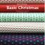 ผ้าสักหลาดเกาหลี พิมพ์ลาย Basic Christmas 1mm มี 8 ลาย ขนาด 42x30 cm /ชิ้น (Pre-order) thumbnail 3