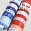 ผ้าสักหลาดเกาหลี พิมพ์ลาย Nordic size 2mm (Pre-order) ขนาด 42x30 cm มี 2 สี แดง น้ำเงิน thumbnail 7