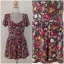 Topshop print Rose Playsuit Size Uk10 thumbnail 2
