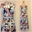 Topshop Laura Lees Embroidered Floral Dress size Uk 8- uk10 thumbnail 3