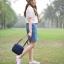 กระเป๋าสะพายข้างยี่ห้อ Super Lover ของแท้ญี่ปุ่นและเกาหลีใต้ผ้าใบมินิมินิน่ารัก มี 5 ลาย (Pre-order) thumbnail 11